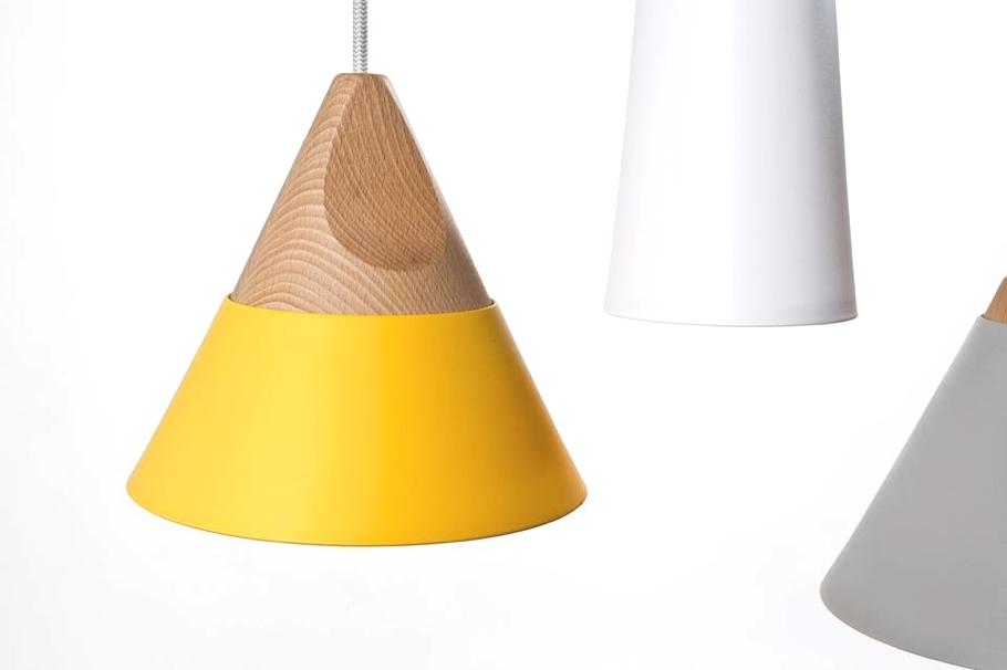 Восхитительны конические светильники от компании Skrivo