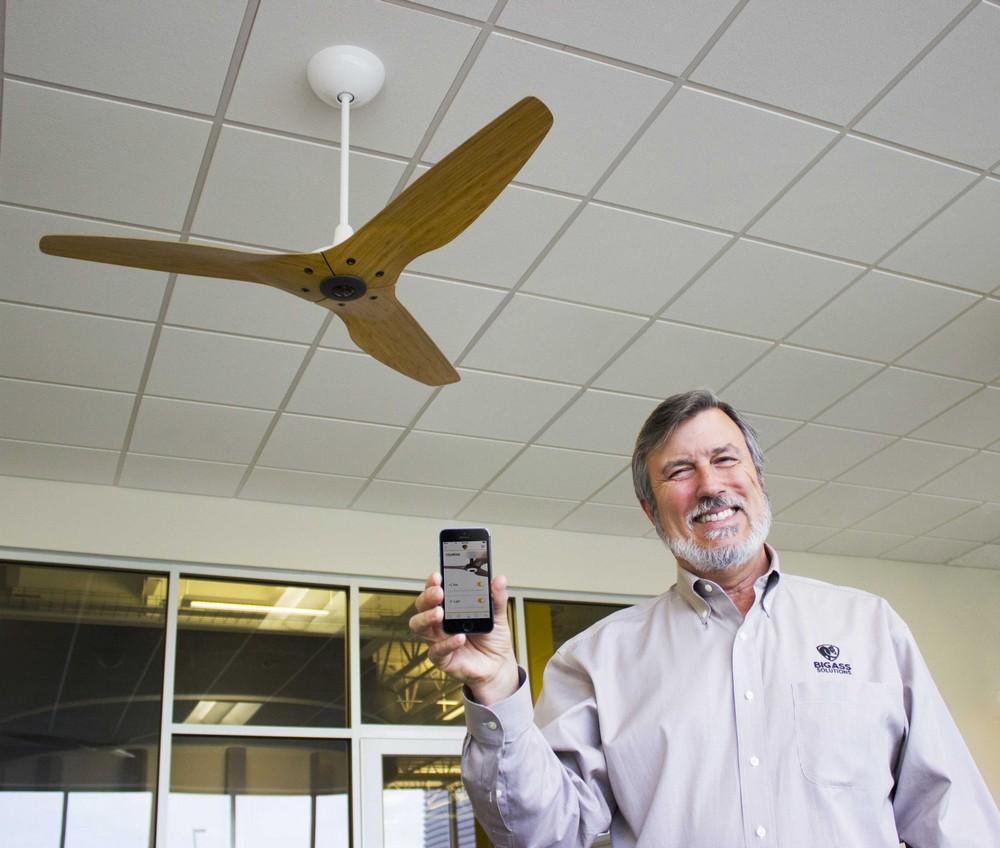 Управление вентилятором с помощью смартфона