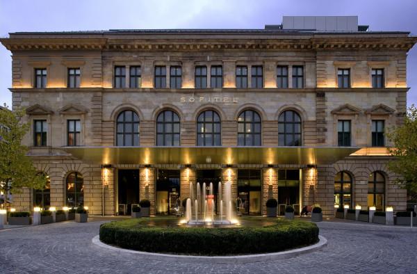 Дизайн роскошного отеля Sofitel Munich Bayerpost