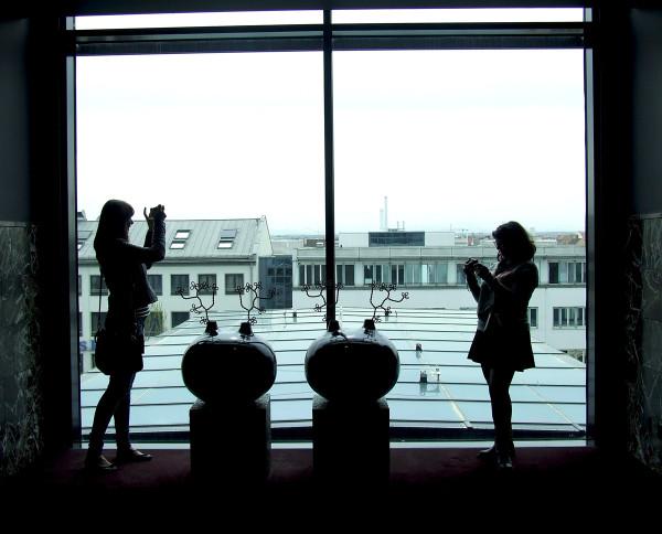 Вид из роскошного отеля Sofitel Munich Bayerpost