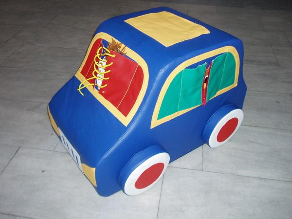 Mobiliario infantil de juegos blandos - el cubo de Rubik de la empresa RosSpektr