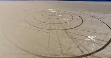 Кадры из клипа «Солнечная система» от Алекса Гороша и Уайли Оверстрит