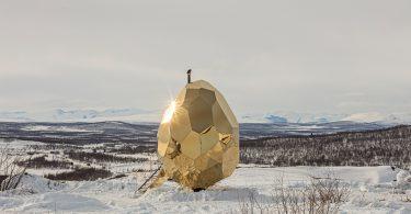 Солнечное яйцо: дизайн сауны от студии Bigert & Bergstrom