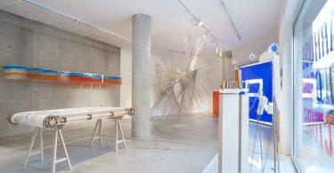 Современная выставка архитектурной школы