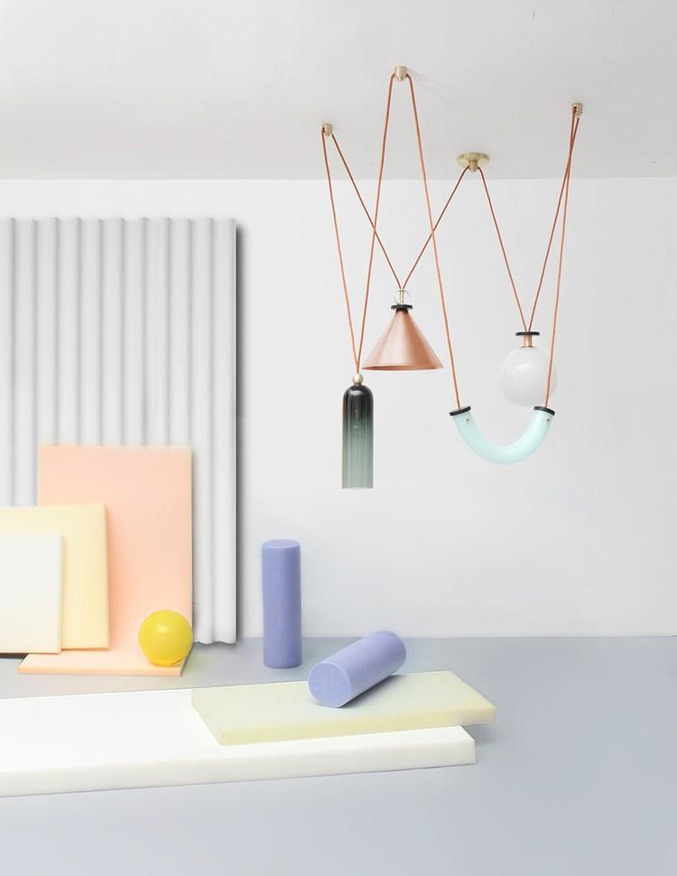Необычный подвесной светильник от Джоном Хоганом