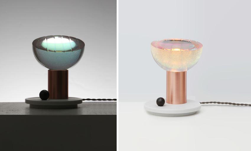 Настольные лампы Atlas от Джоном Хоганом