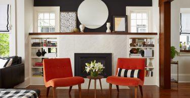 Вам надоел камин? Смотрите, как может выглядеть современный камин в интерьере с нашей подборкой фотографий «до и после»!