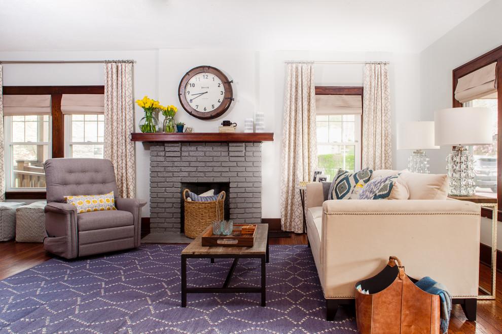 Оформление современного камина в интерьере дома - Фото 8