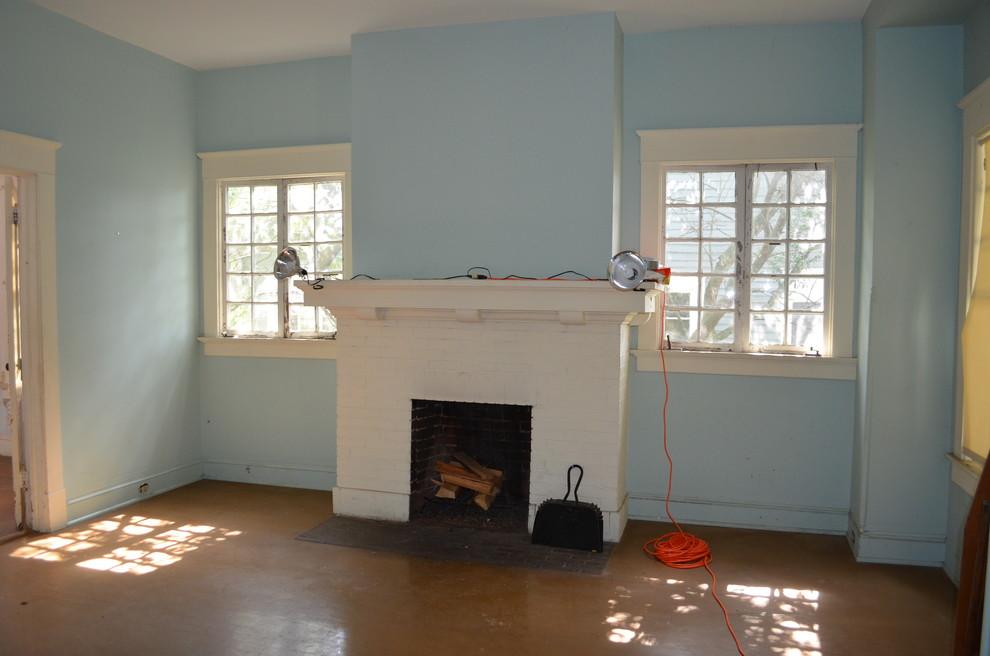 Оформление современного камина в интерьере дома - Фото 21