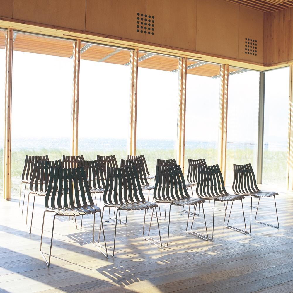 Норвежский дизайн в стульях