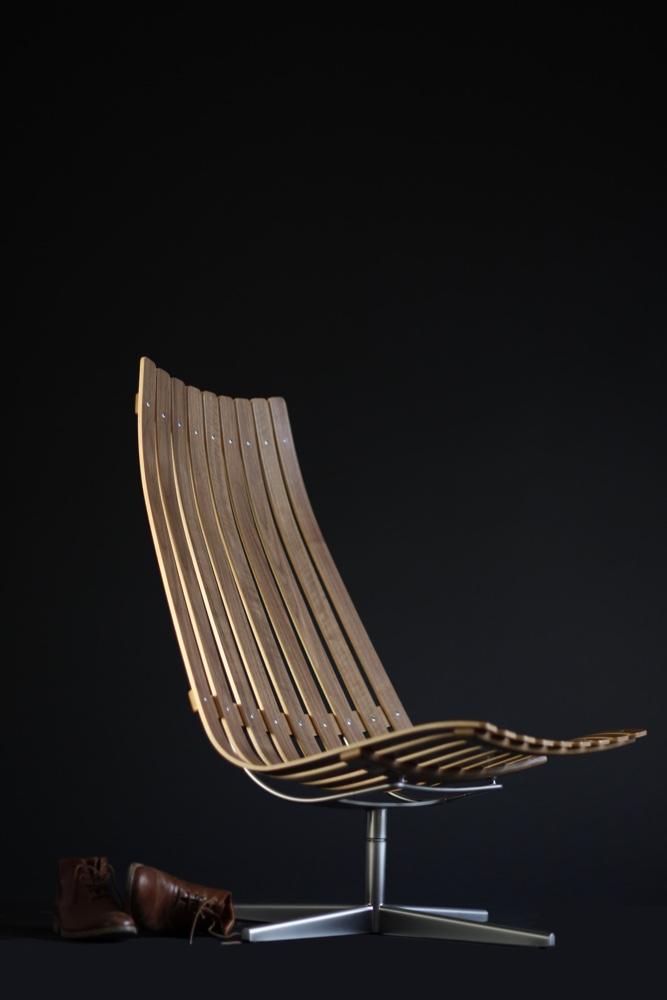 Норвежский дизайн: стул был создан в 1960 г
