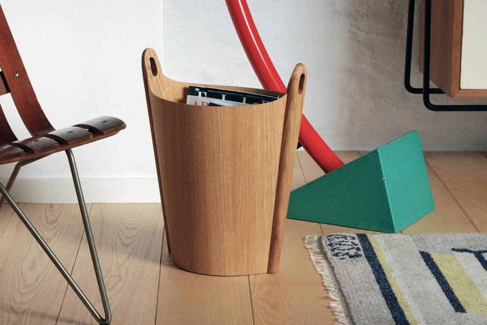 Норвежский дизайн: корзина для бумаг