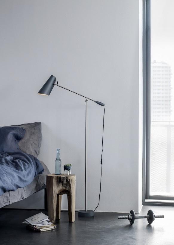 Норвежский дизайн: напольный светильник