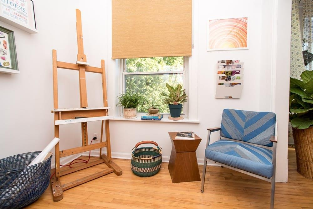 Современный скандинавский интерьер: кресло ручной работы