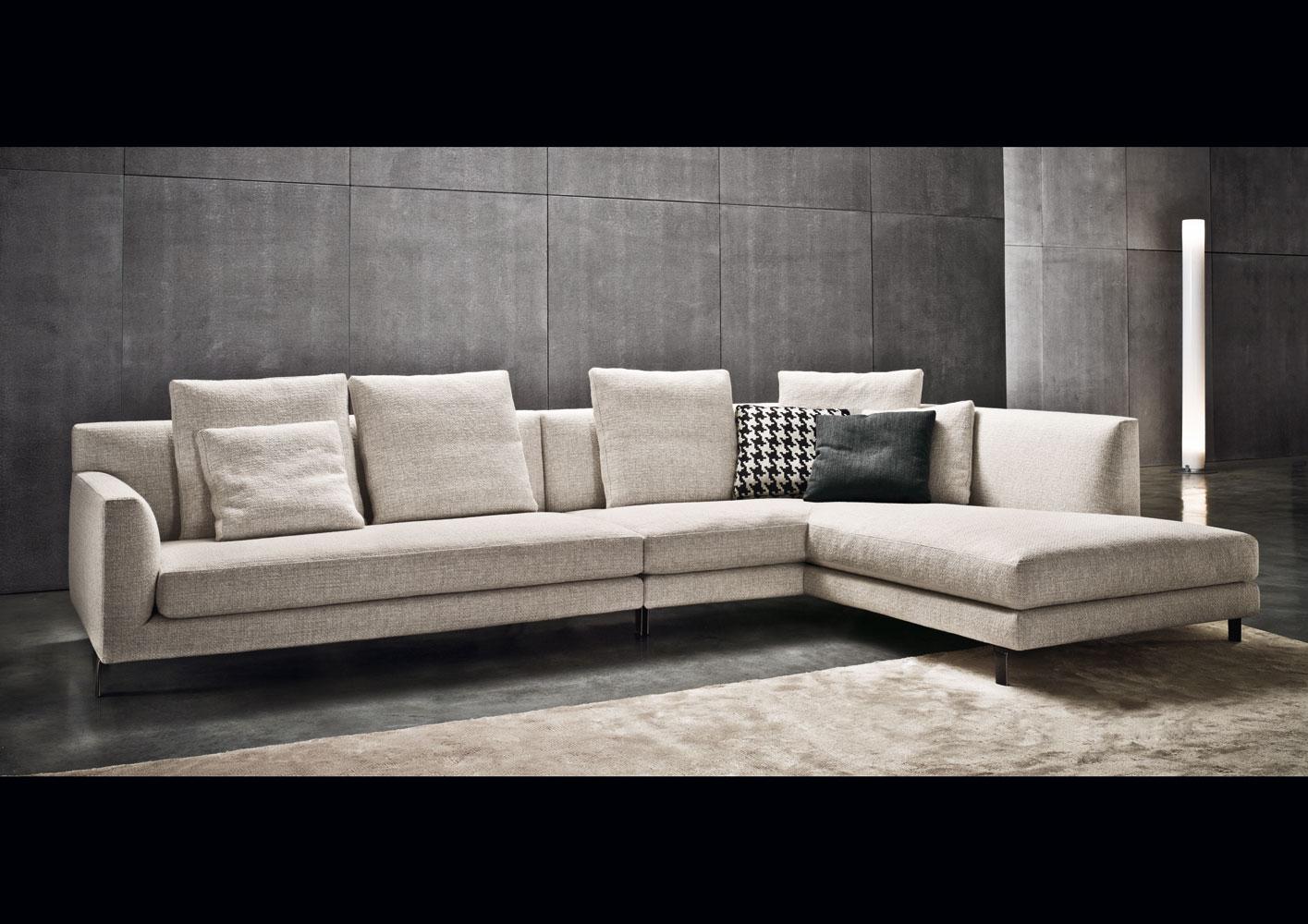 Современные диваны в интерьере гостиной вашего дома