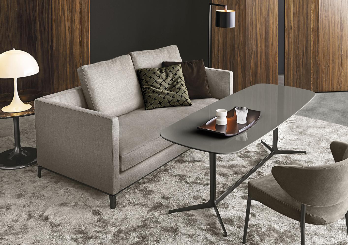Современные диваны в интерьере гостиной - диван Andersen Slim 90