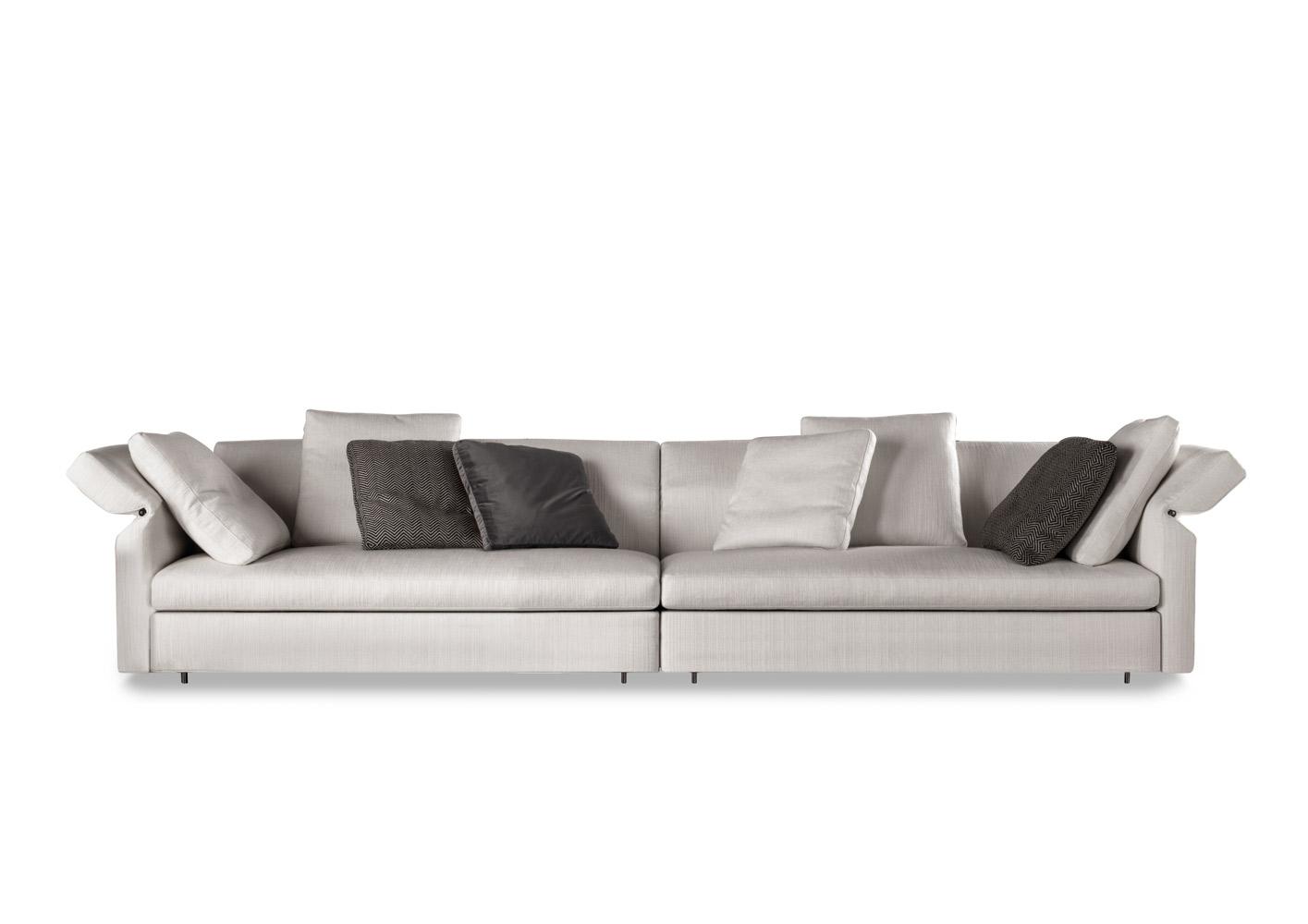 Современные диваны в интерьере гостиной - диван Collar. Фото 1