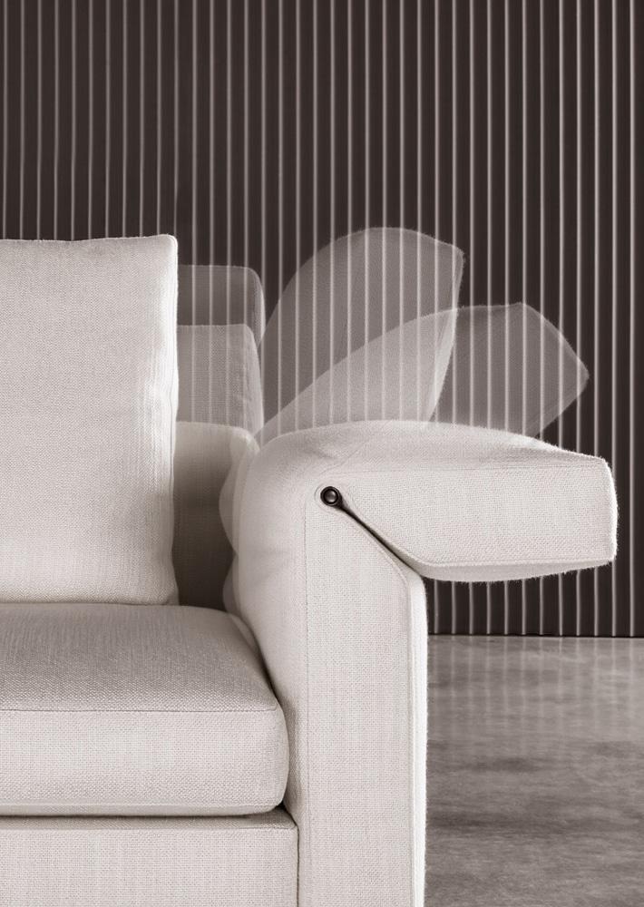 Современные диваны в интерьере гостиной - диван Collar. Фото 2