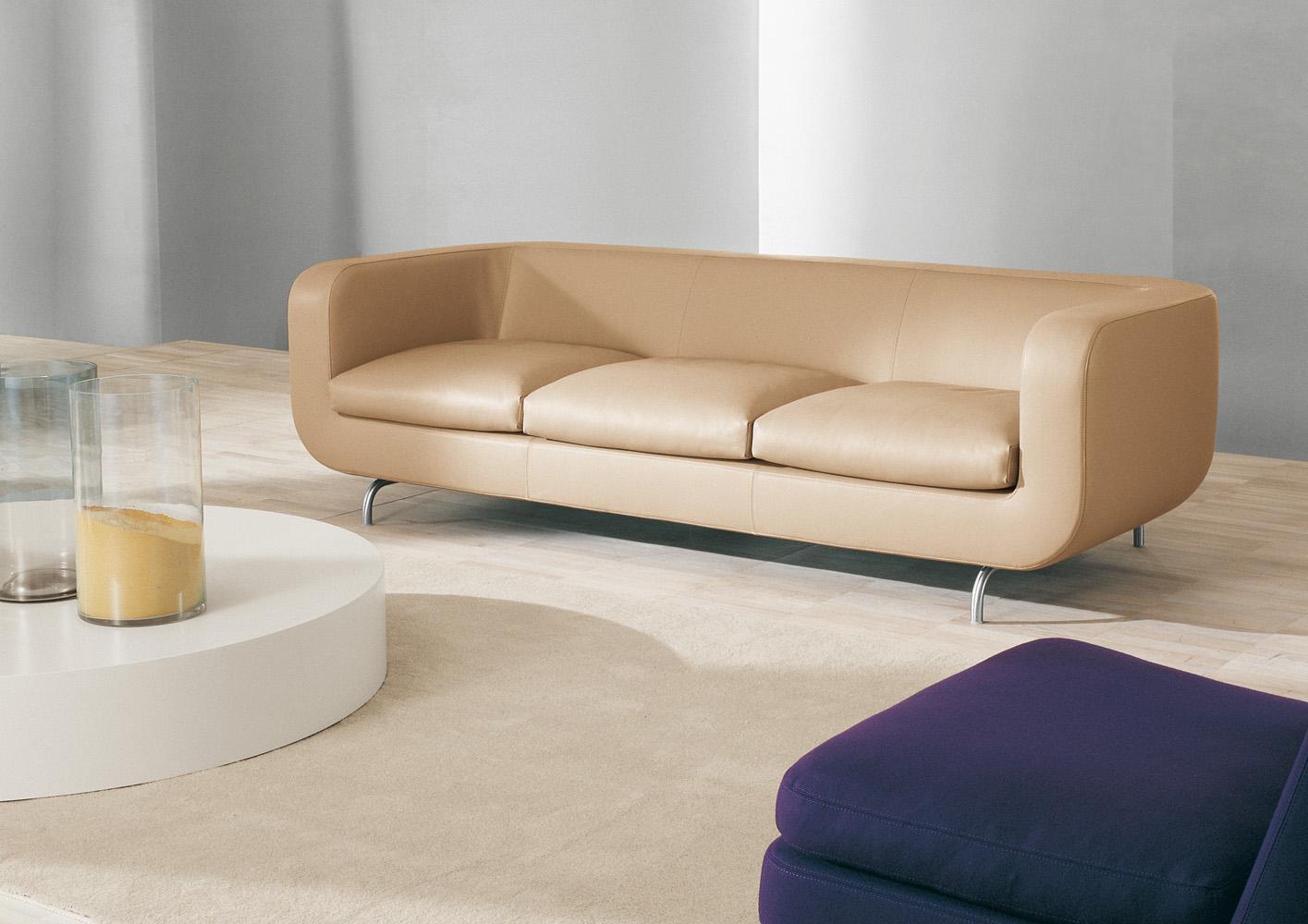 Современные диваны в интерьере гостиной - диван Dubuffet