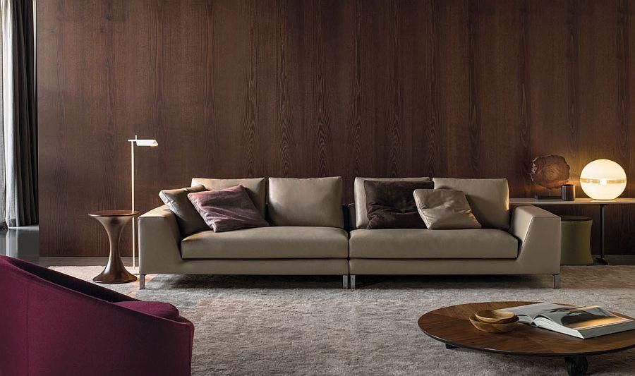 Современные диваны в интерьере гостиной - диван Hamilton Islands