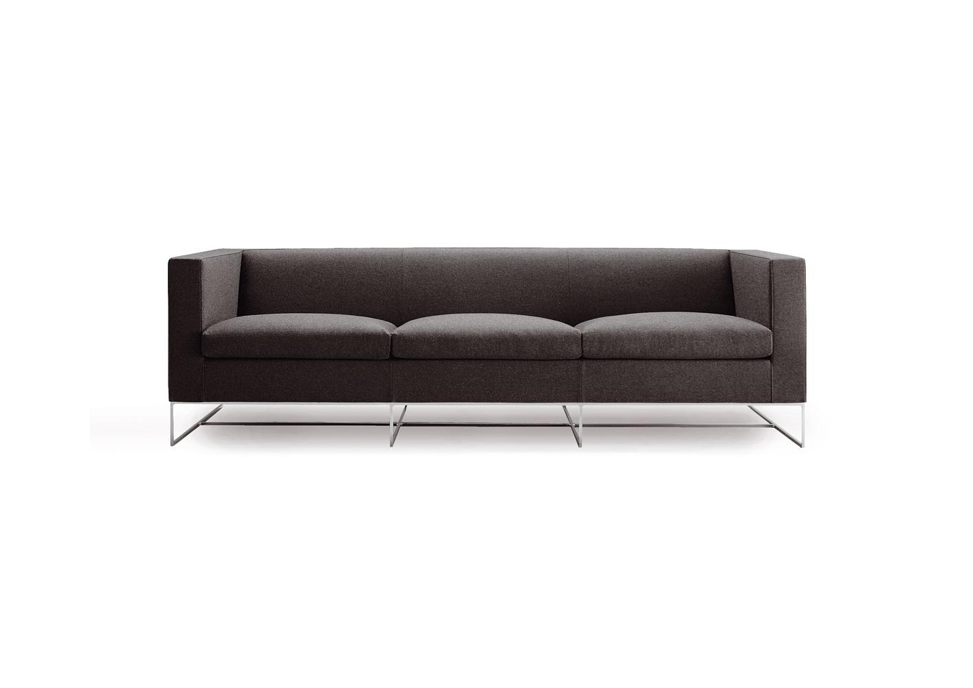 Современные диваны в интерьере гостиной - диван Klee