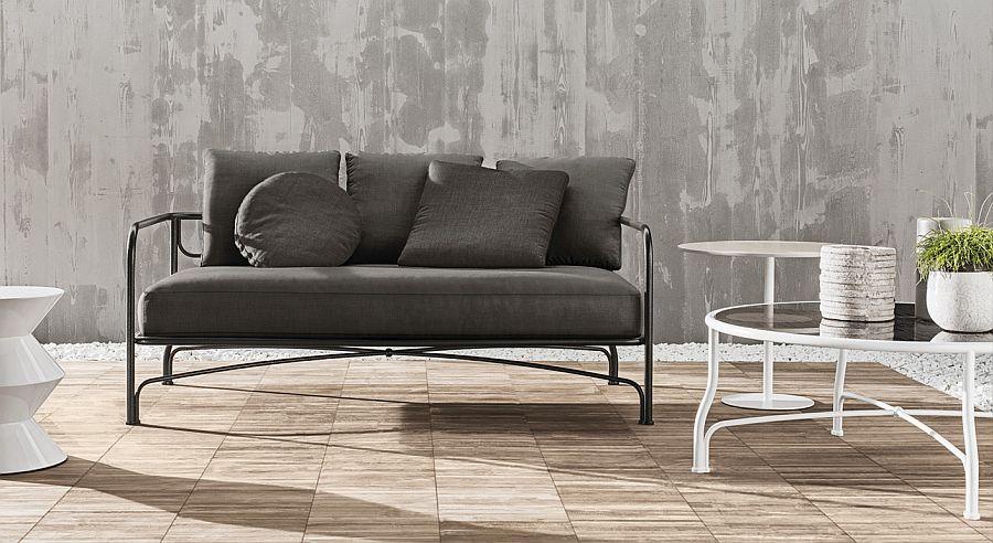 Современные диваны в интерьере гостиной - диван Le Parc