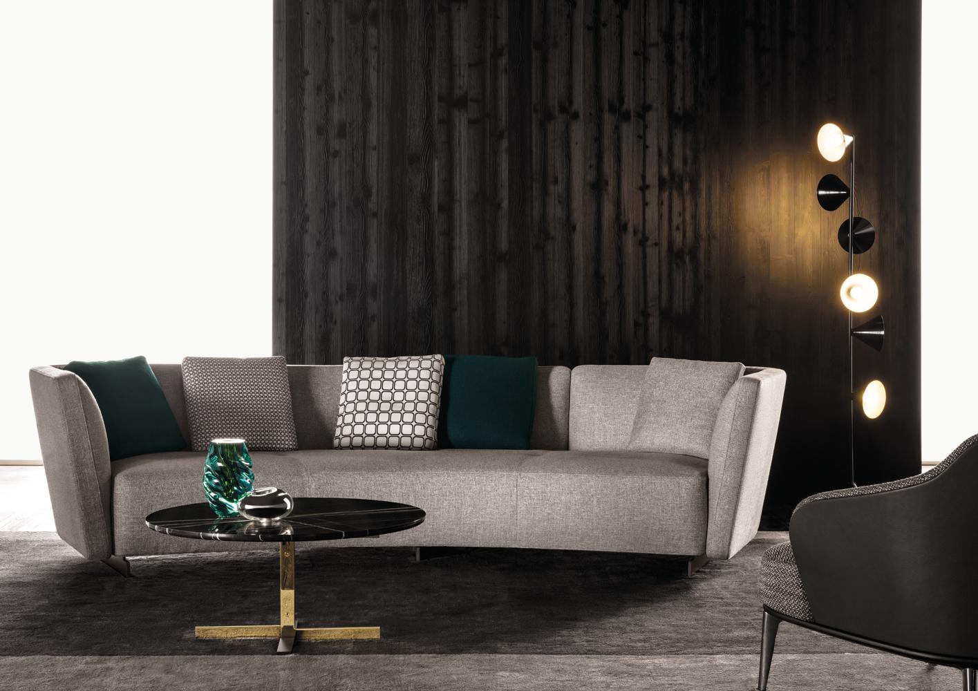 Современные диваны в интерьере гостиной - диван Lounge Seymour. Фото 2