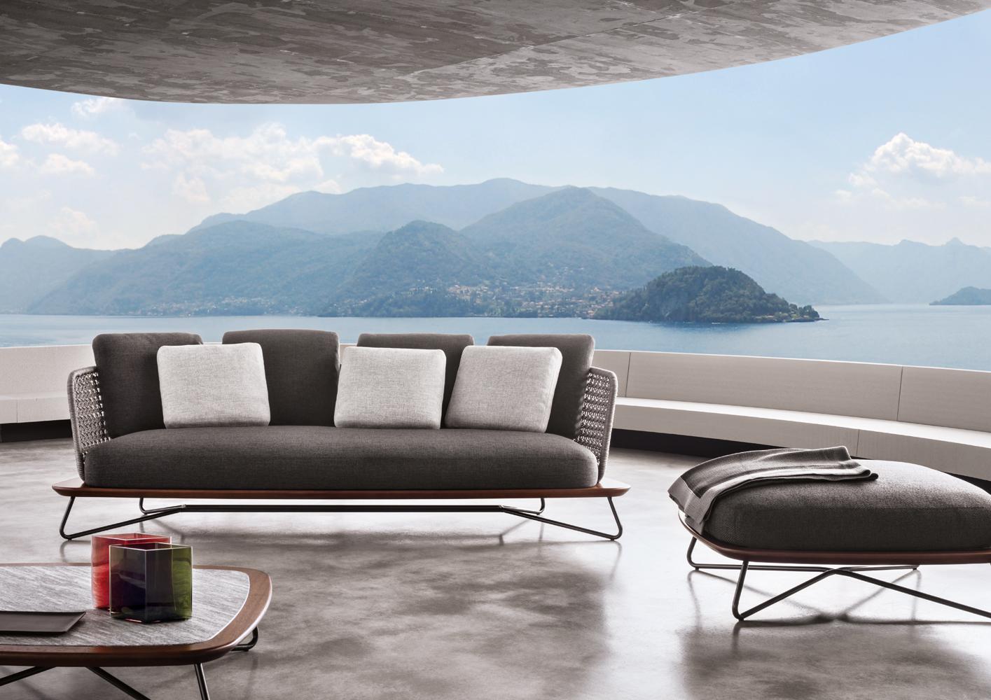 Современные диваны в интерьере гостиной - диван Rivera. Фото 1