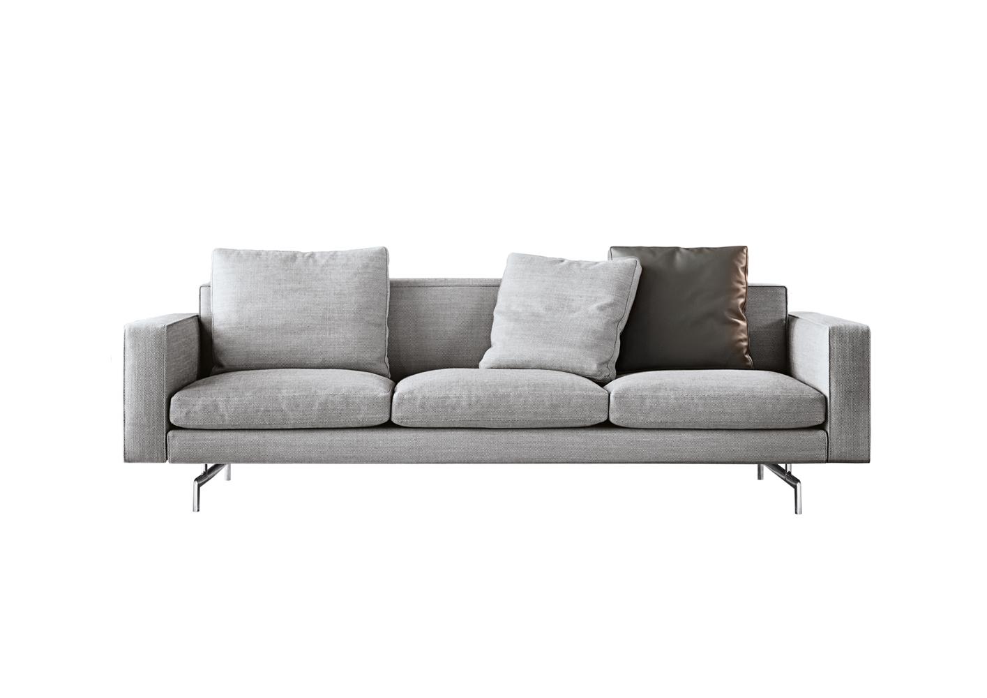 Современные диваны в интерьере гостиной - диван Sherman.93