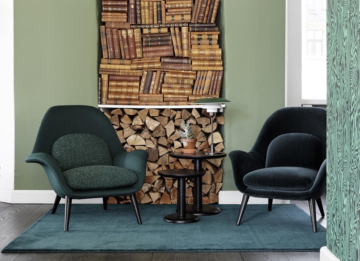 Современные дизайнерские стулья из монолита