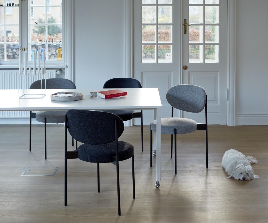 Современные дизайнерские стулья от Verner Panton