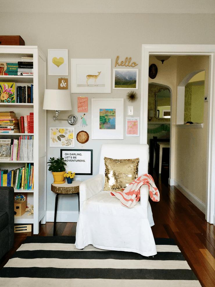 Современные элементы декора: фото и картинки на стене