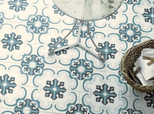 Интересные идеи мозаичной плитки: месопотамские узоры - фото 2