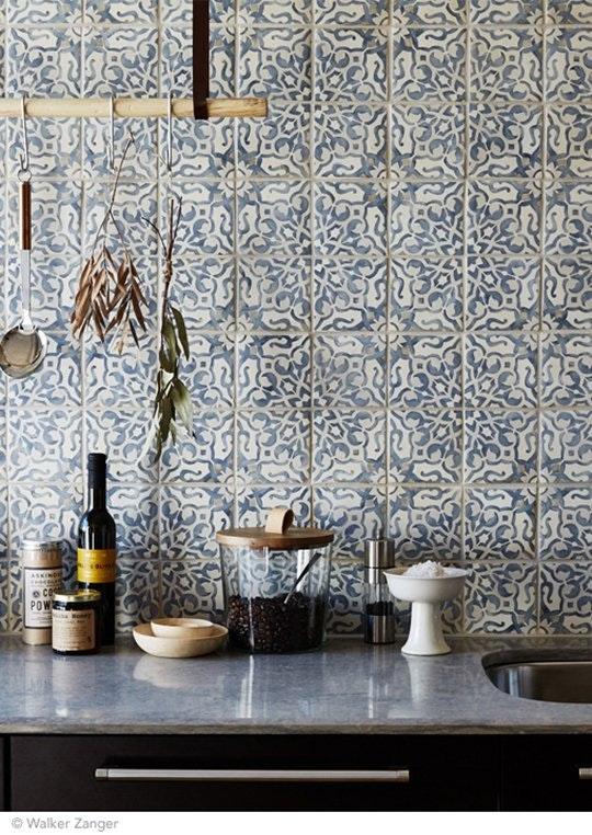 Интересные идеи мозаичной плитки: месопотамские узоры - фото 4