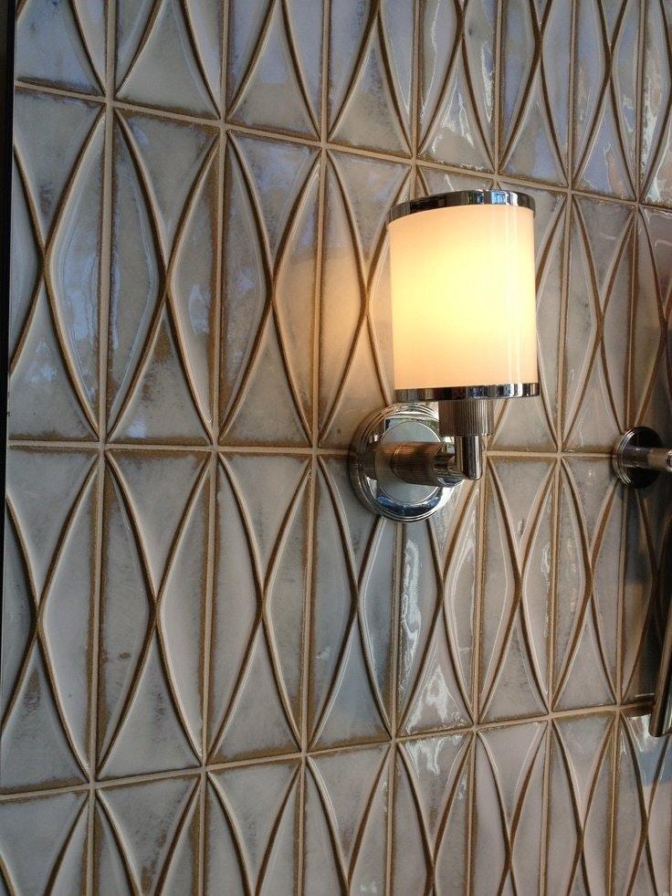 Интересные идеи мозаичной плитки с неравномерным узором