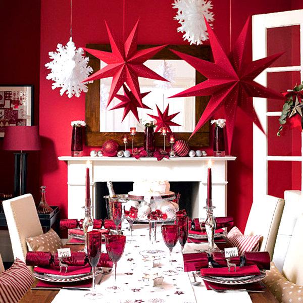 Современные новогодние украшения для дома - Фото 1