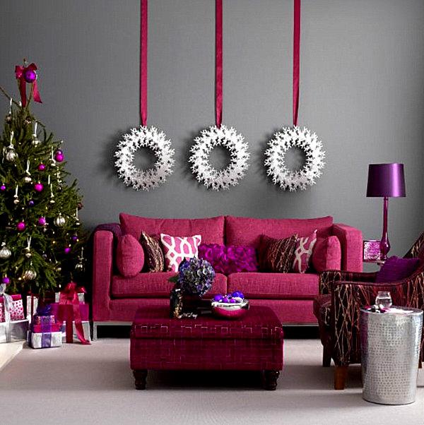 Современные новогодние украшения для дома - Фото 2