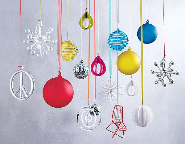 Современные новогодние украшения для дома - Фото 3