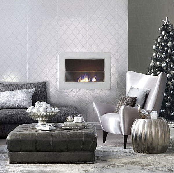 Современные новогодние украшения для дома - Фото 5