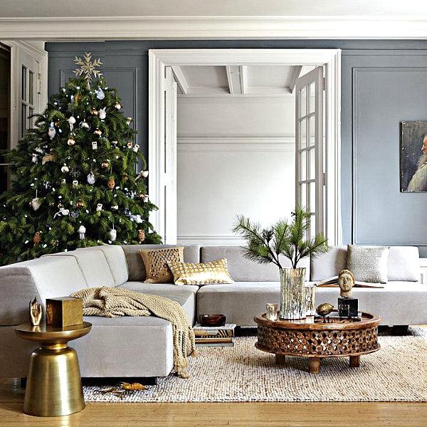 Современные новогодние украшения для дома - Фото 6