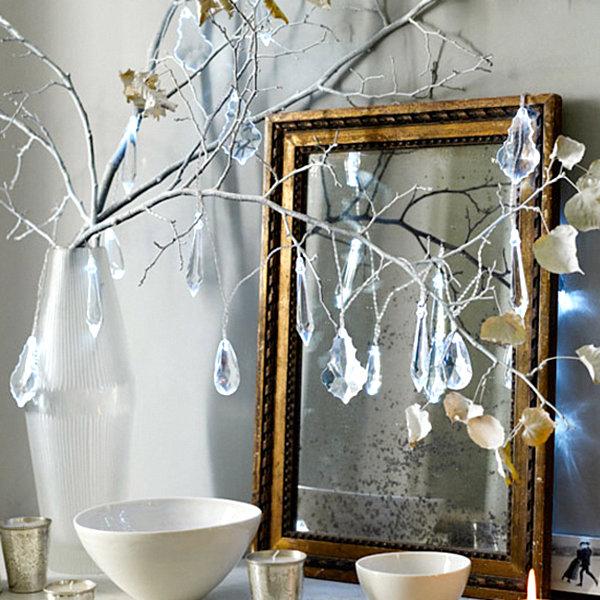 Современные новогодние украшения для дома - Фото 8