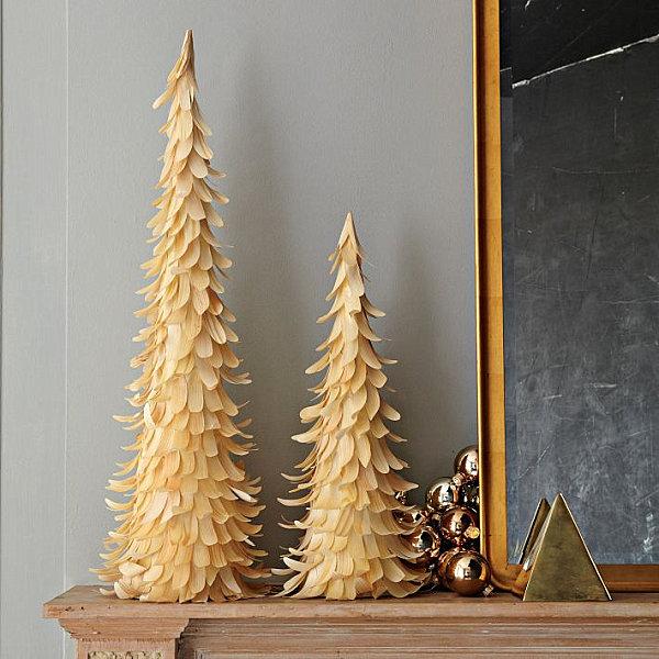 Современные новогодние украшения для дома - Фото 12