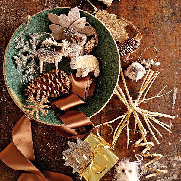 Современные новогодние украшения для дома - Фото 15