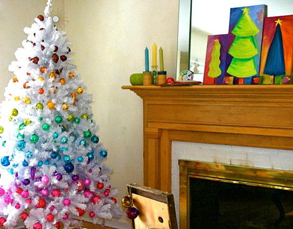 Современные новогодние украшения для дома - Фото 16