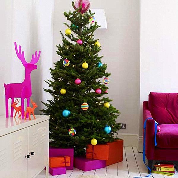 Современные новогодние украшения для дома - Фото 17