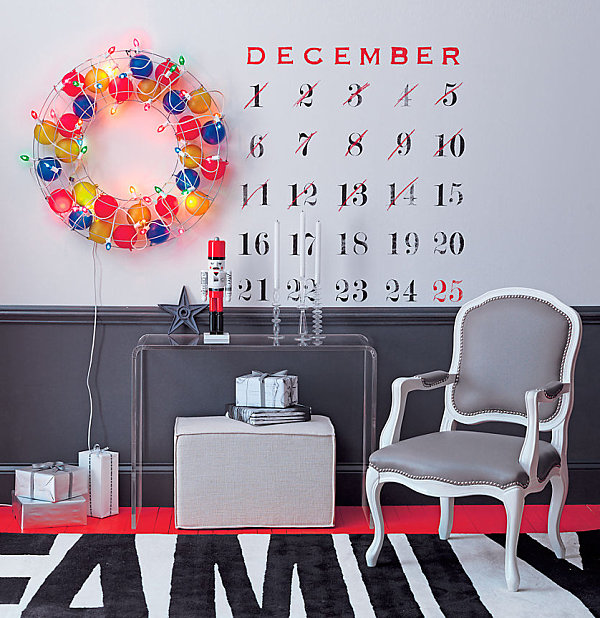 Современные новогодние украшения для дома - Фото 19
