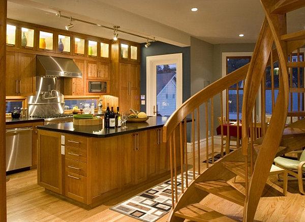 Винтовая лестница дизайн