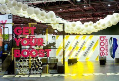 Спортивная выставка в Лондоне продемонстрировала стильные способы оформления павильона.