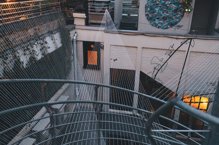 Инсталляция в LePerchoir в Париже