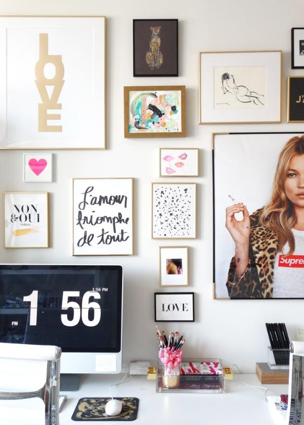Картины как элемент дизайна интерьера комнаты